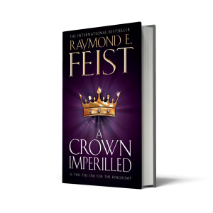 A Crown Imperilled, the second book in the final Riftwar Cycle trilogy, was published today